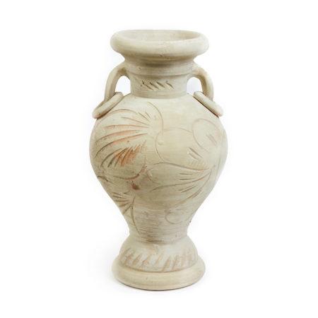 MA Tunis doniczka ceramiczna bezowa dwauchwyty otwórw dnie glowne 450x450 - MA Tunis <br> duża