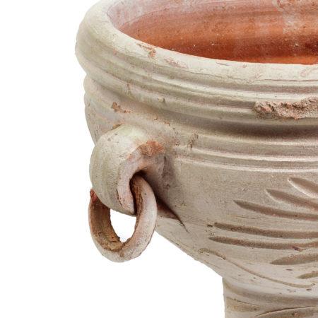 MA Tunis doniczka ceramiczna bezowa na stopie duża glowne 1 450x450 - MA Tunis <br> duża