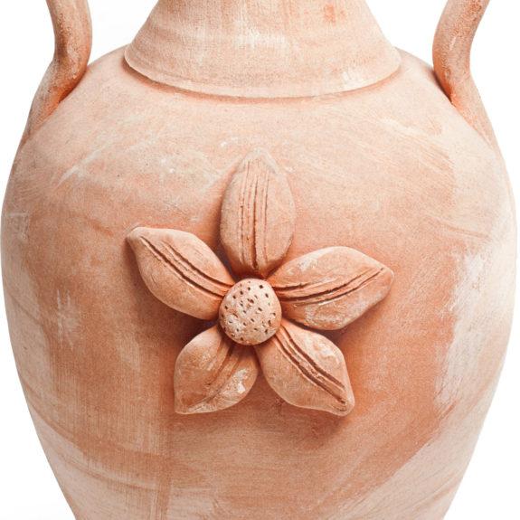 PT-Pistoia_amfora_-ceramiczna_bezowa_dwauchwyty_kwiat_glowne