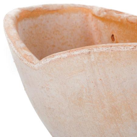 TI Badoere doniczkaceramiczna bezowa polokragla wiszaca gladka glowne 1 450x450 - TI Badoere <br> półokrągła, wisząca