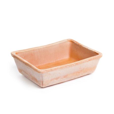TI Bonsai doniczkaceramiczna bezowa prostokatna gladka glowne 450x450 - TI Bonsai <br> prostokątna