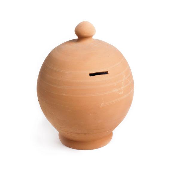 TI Casa skarbonka ceramiczna bezowa glowne 575x575 - TI Casa <br> skarbonka ceramiczna
