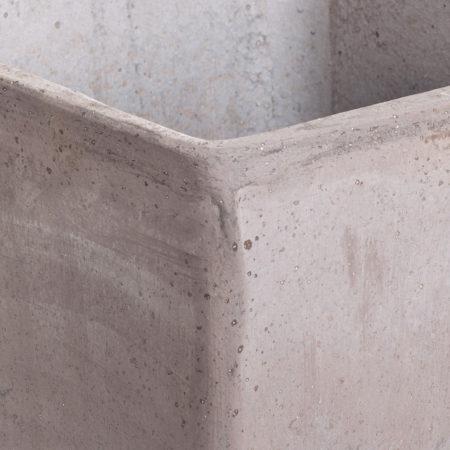 TI Morgano doniczkaceramiczna szara kwadratowa gladka glowne 1 450x450 - TI Morgano <br> zestaw trzech doniczek