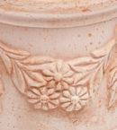 TI Storia1 doniczkaceramiczna bezowa okragla licie kwiaty glowne 1 130x145 - TI Storia <br> okrągła
