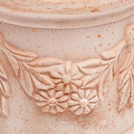 TI Storia1 doniczkaceramiczna bezowa okragla licie kwiaty glowne 1 450x450 - TI Storia <br> okrągła