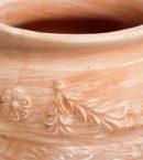 TI Storia doniczkaceramiczna bezowa okragla wazon licie kwiaty glowne 1 130x145 - TI Storia <br> okrągła
