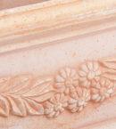 TI Storia doniczkaceramiczna bezowa prostokatna licie kwiaty glowne 1 130x145 - TI Storia <br> prostokątna
